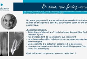 #33 – Case Based Teaching n°9 – A propos d'une Dens in dente